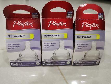 Playtex Teat x 3 pairs