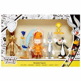 Looney tunes bendable figures pack