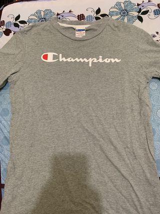 champion T桖 灰色 二手