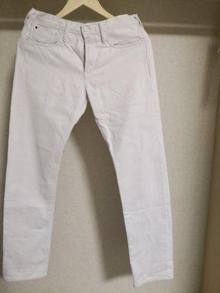 45R white jeans