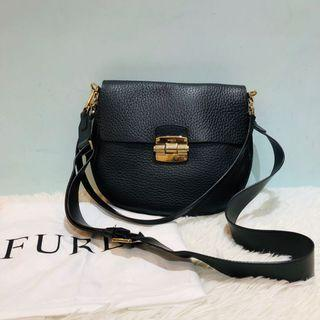 正品 Furla Shoulder Bag black