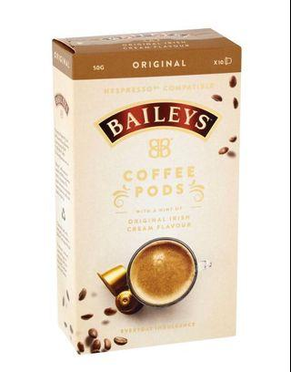 澳洲Baileys Coffee Pods 膠囊咖啡