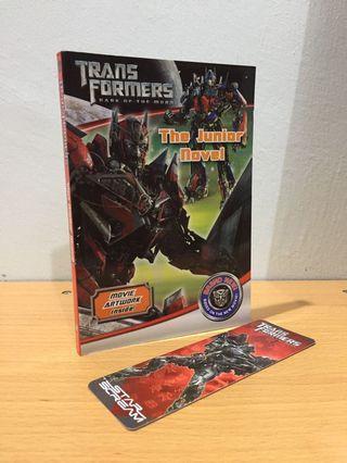 Transformers Dark of the Moon Novel