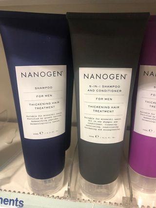 Nanogen shampoo for men