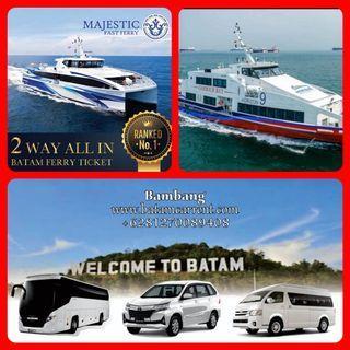 Batam Ferry Ticket & transport