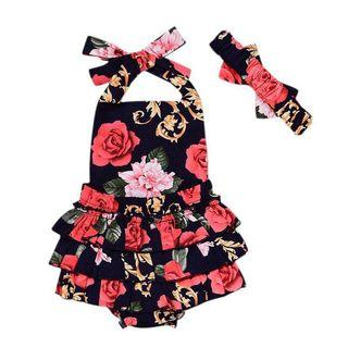 Flower Jumpsuit 12-18M