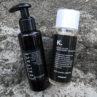 CoalFace Cleanser + Rosa Glow Treatment Essence