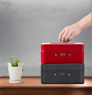 password lock iron box change portable small box