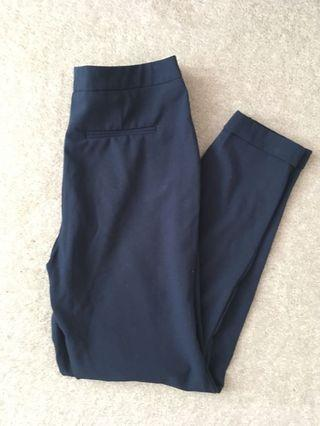 BNWOT Navy Office Pants - F21 Small