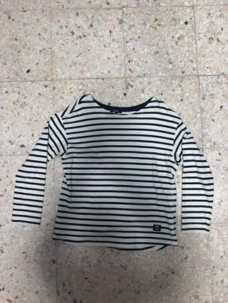 Striped Long Sleeve Shirt (SPAO)