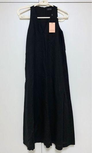 🚚 BNWT Beyond the Vines Black V Collared Dress