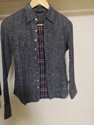 45R Slim cut shirt/jacket