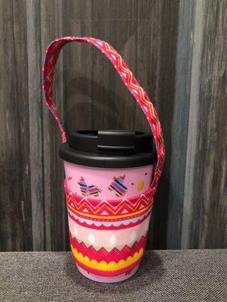 Tumbler Mug and pouch sleeve