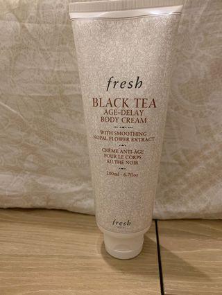 Fresh 紅茶緊緻身體滋潤乳霜