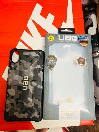UAG 防摔殼 頂級 全新 Xs max iPhone 專用 6.5寸 黑迷彩