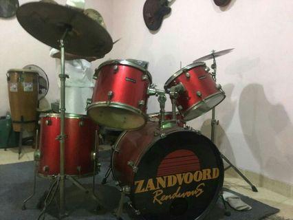 1 set drum ( drum legacy + symbal ziljian )
