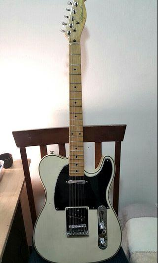 Electric Guitar Telecaster - Craftsman  with Fender Noiseless 4th Gen Pickup Custom Sale + Free Bag