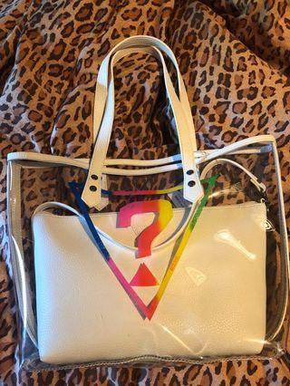 2pc Guess purse
