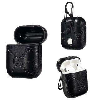 Gucci Textured Airpods/Airpod case [luxury]