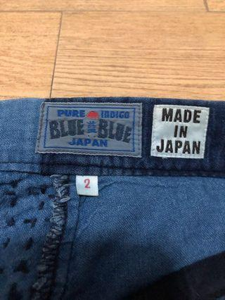 BLUE BLUE JAPAN 🇯🇵 PATCHWORK Boro