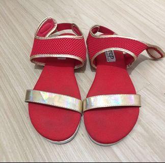 Syrup Red Sandals