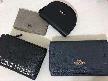 各式皮夾 零錢包 名牌精品 小包 中夾 卡夾 真皮 Coach CK 2R WHY