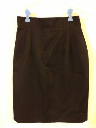 手工高腰窄裙