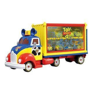 日本 Takara Tomy 反斗奇兵 Toy Story 大貨車 巴斯光年 胡迪 三眼仔