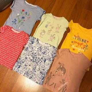 Mothercare Girl's T-Shirts