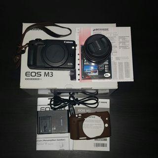 Jual Camera Mirrorless Canon EOS M3 Second Murah