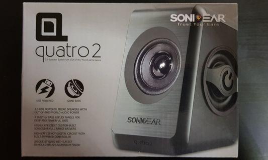 SonicGear 2.0 Speaker Quatro 2 (Black)