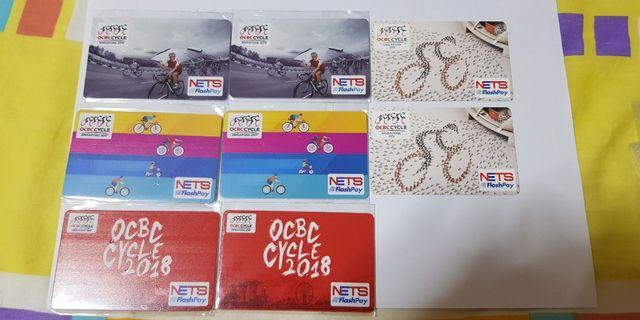 OCBC Cycling Nets Flashpay Ezlink (2015 to 2018)