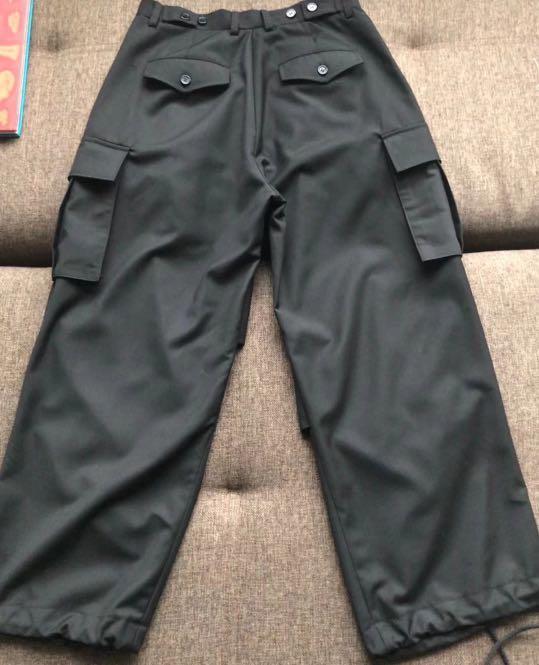 3039 Vintage - 手工訂製軍風多口袋西裝褲