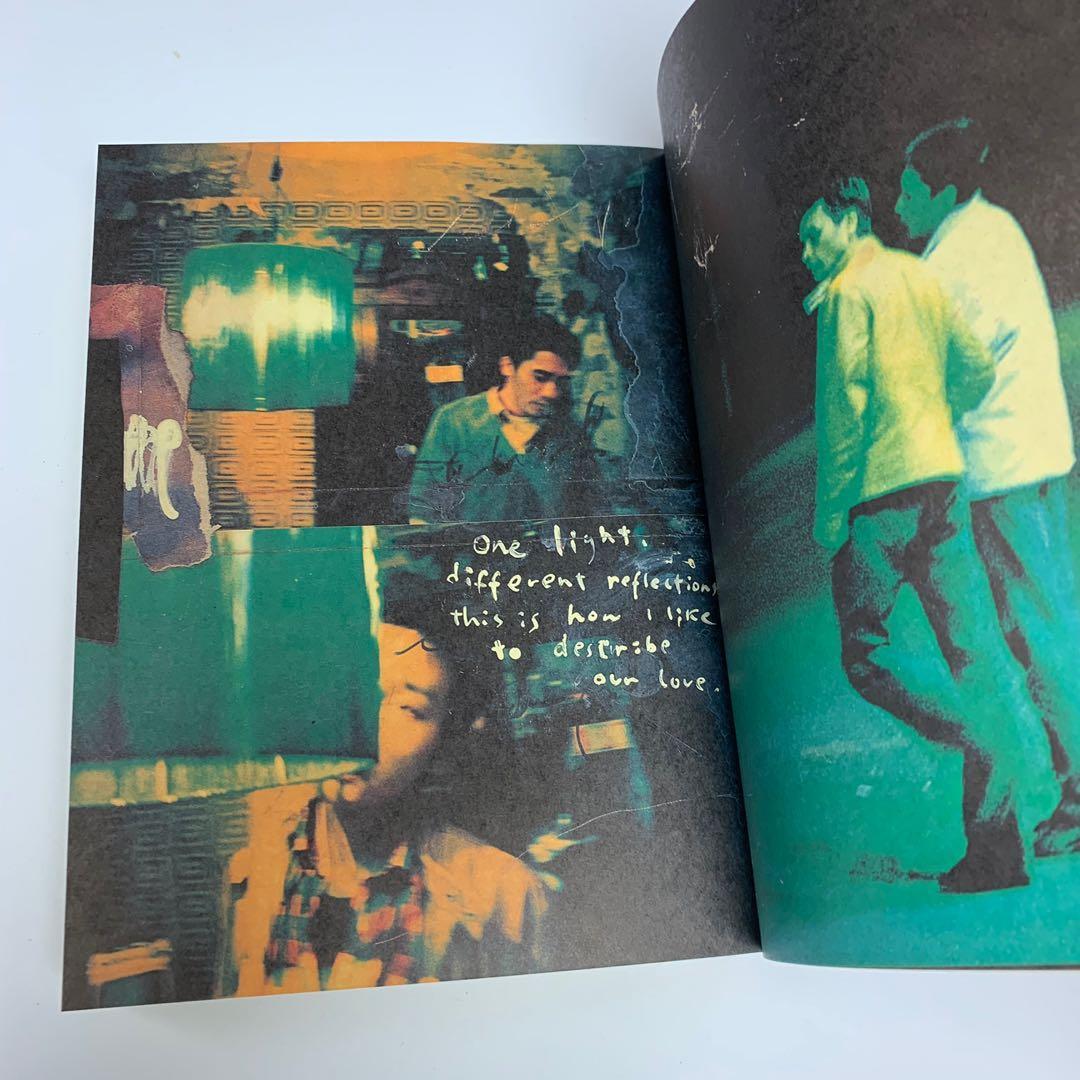 春光乍洩 電影寫真書 (王家衛 張國榮 梁朝偉 作品)澤東電影公司1997年出版 Happy Together (Wong Kar Wai ,Leslie Cheung ,Tony Leung )