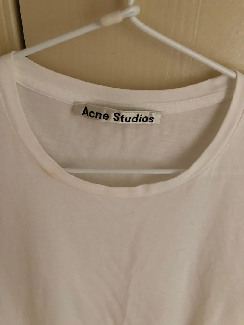 Acne Studios Cotton Muscle Tank White Size XS (AU 6-10)