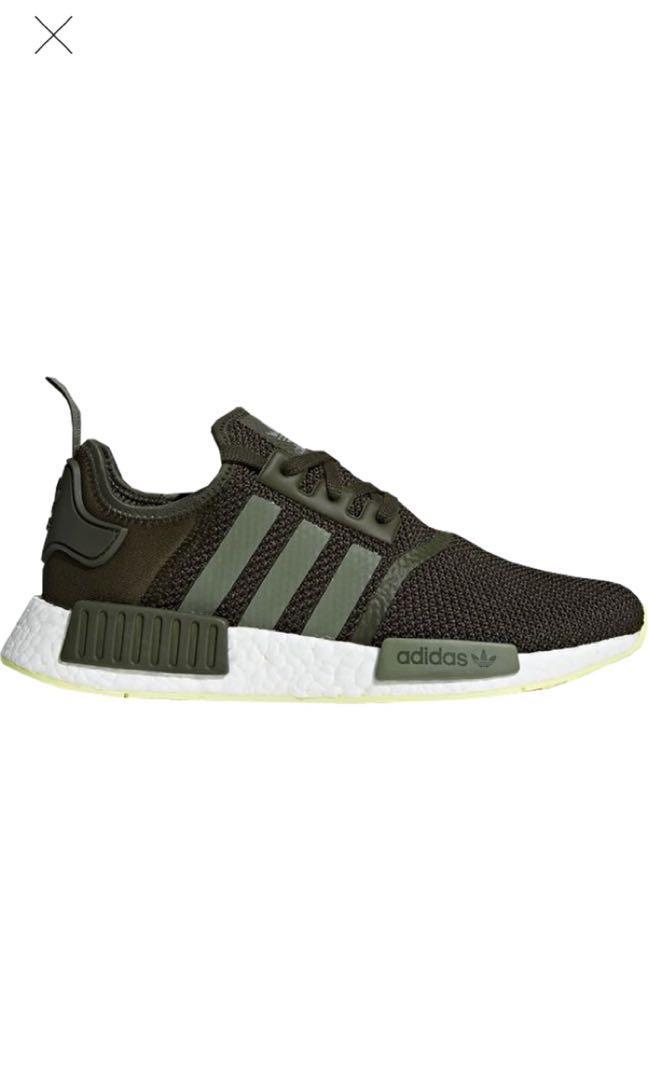 Adidas NMD R1 Cargo/Army Green, Men's