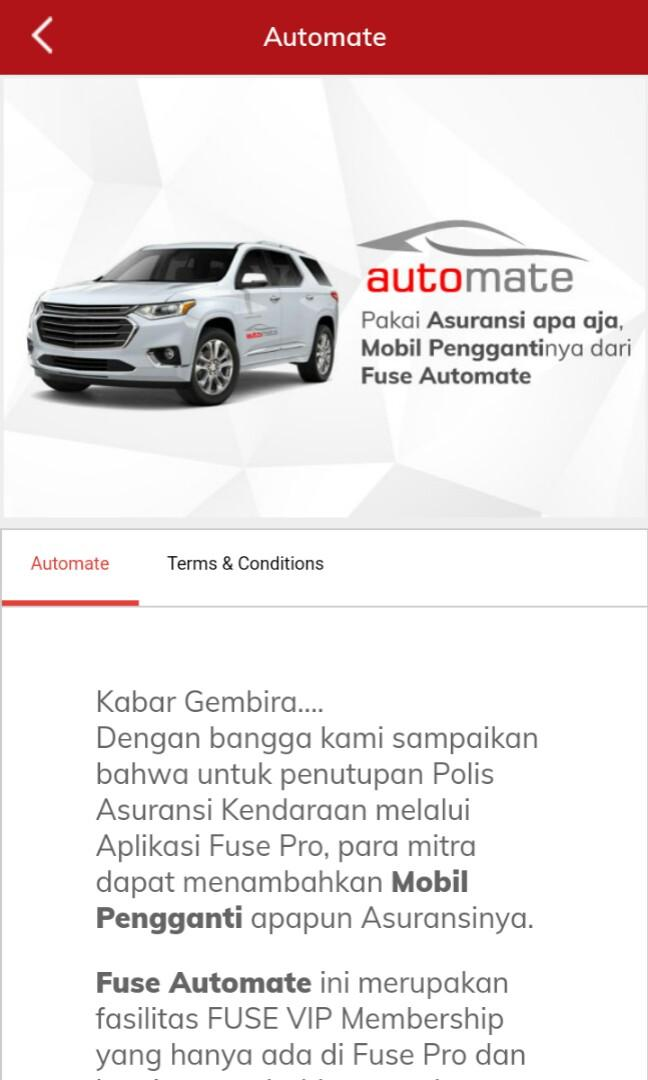 Asuransi Mobil Fuse Pro all merk and type