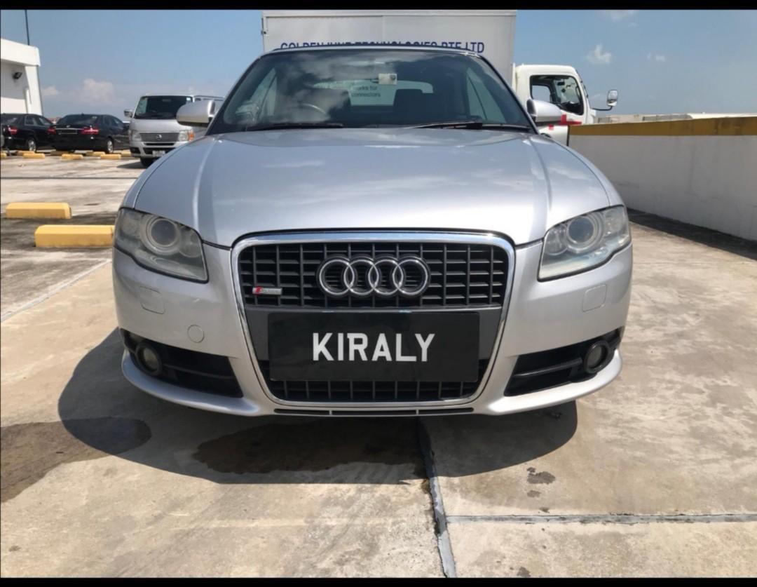 Audi R8 A4 Cabriolet