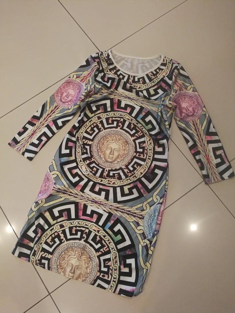 Beautiful dress like Versace