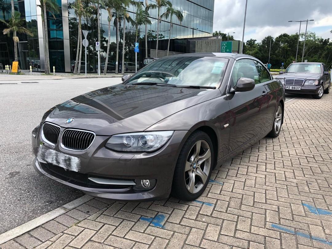 BMW 323I CONV 2011