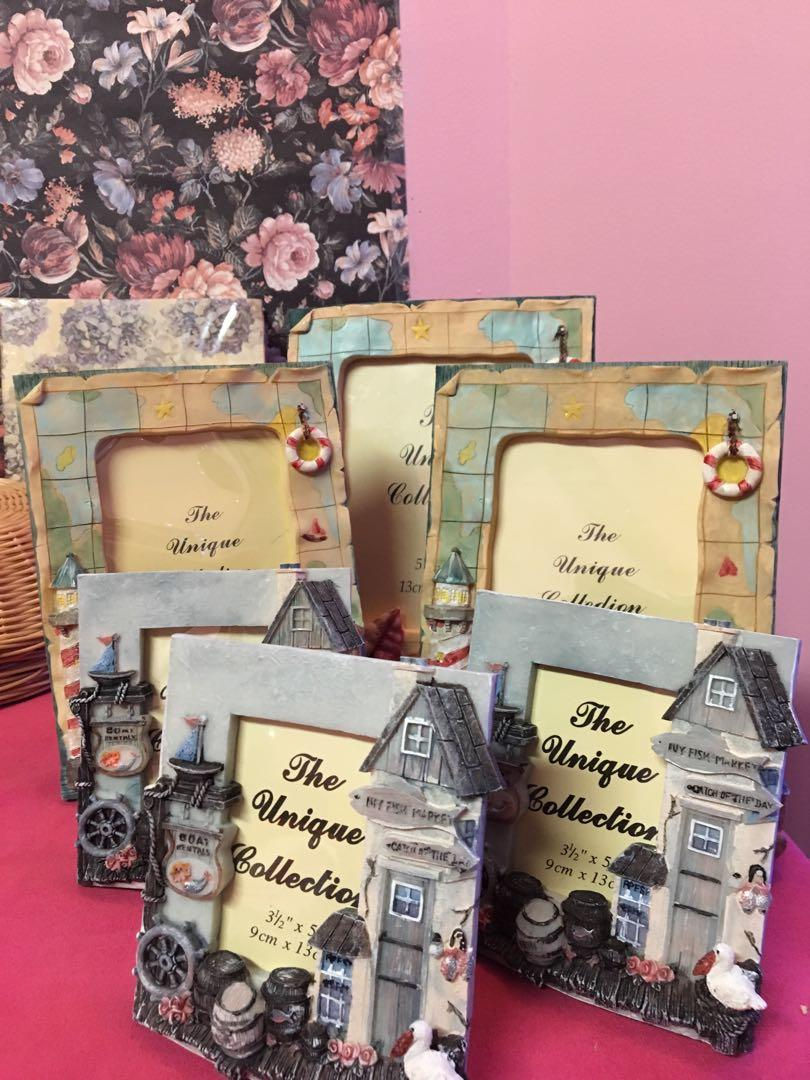 BRAND NEW UNIQUE COLLECTION PICTURE FRAMES $10 each