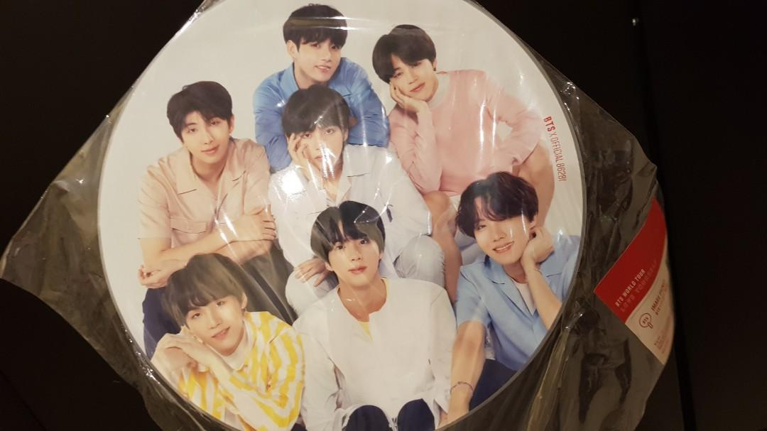 BTS Image Picket - Love Yourself Concert Official MD