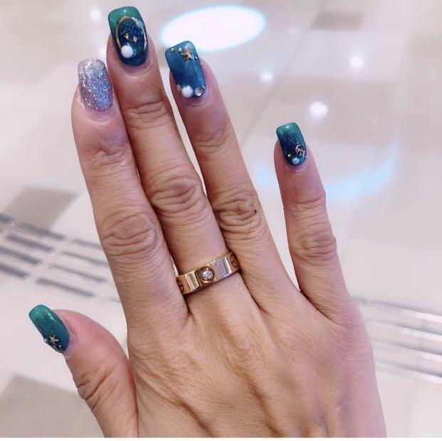 Cartier Love Ring 三粒鑽石戒指