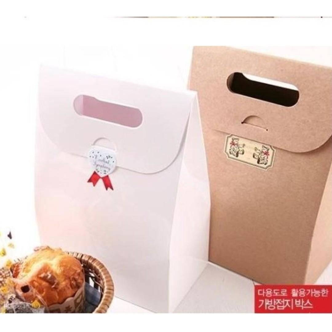 CB050 Craft Paper Gift Bag (Brand New Cute Nice Sales)