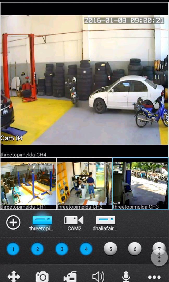 CCTV Surveillance camera with Cellphone Mobile Phone Access FREE Installation