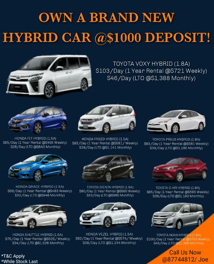 Cheapest Car Rental & Lease To Own