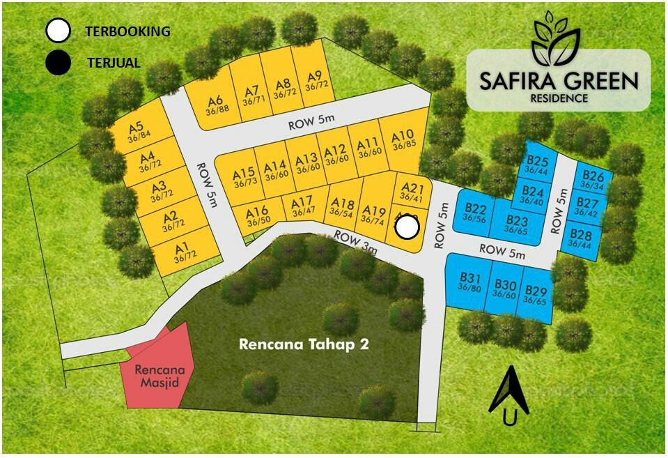 Cluster Syariah Safira green residence