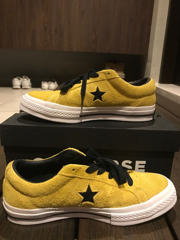 Converse One Star Ox (Yellow)(45th