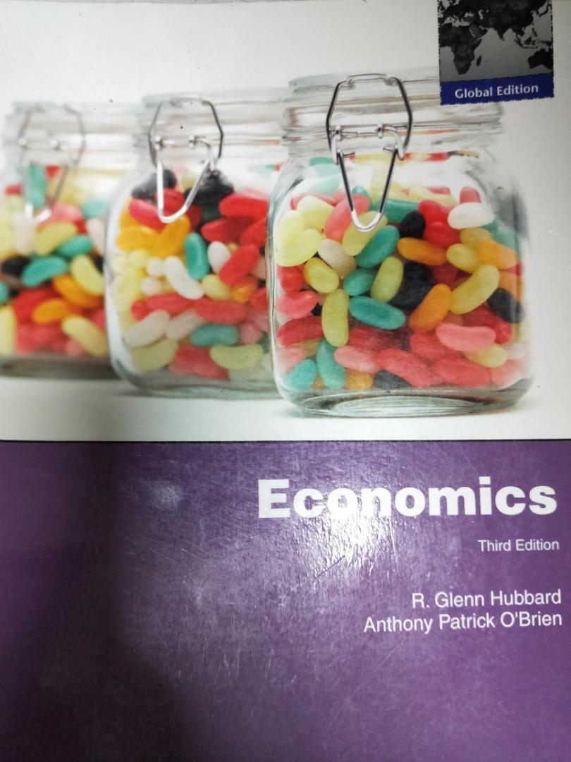 Economics》ISBN:0135101166│Pearson Education (US)│R. Glenn Hubbard, Anthony P. OBrien