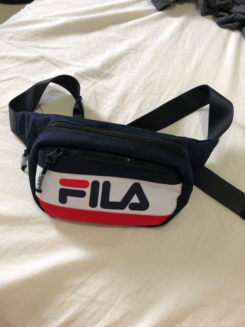 premium selectie mannen / man ontmoeten Fila classic bum bag